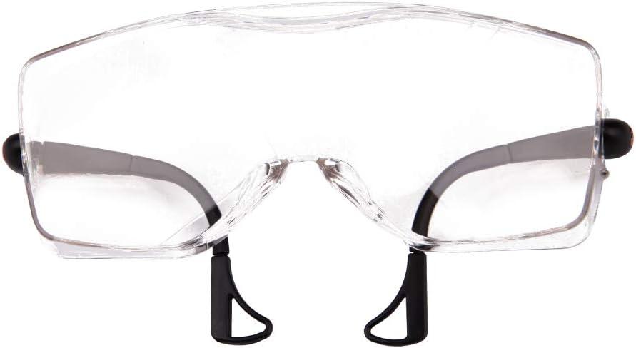 laboratorios Afinder Gafas protectoras transparentes con cristales resistentes a los ara/ñazos para obras taller y ciclismo color 2