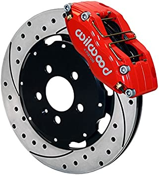 Fits: 2003 03 2004 04 2005 05 Chevy SSR Max Brakes Front /& Rear Supreme Brake Kit Premium Slotted Drilled Rotors + Ceramic Pads KM014433