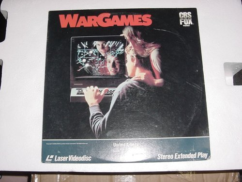 Laserdisc WARGAMES with Matthew Broderick, Dabney Coleman, John Wood, and Ally Sheedy. WAR GAMES