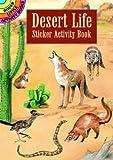 img - for Desert Life Sticker Activity Book (Dover Little Activity Books Stickers) book / textbook / text book