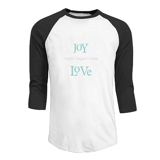 1716568ac Amazon.com: Joy-Love Men's Custom Raglan Sleeve Cotton Baseball T ...