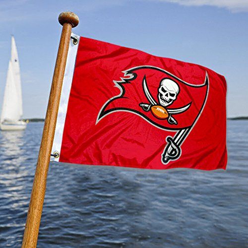 Wincraft Tampa Bay Buccaneers Boat and Golf Cart Flag