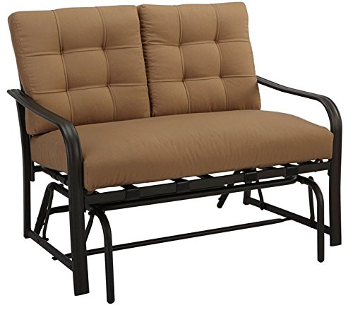Roma Loveseat Glider by LIVING ACCENTS
