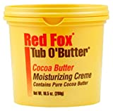 Cheap Red Fox Tub O Butter Cocoa Butter 10.5 Ounce (310ml) (6 Pack)