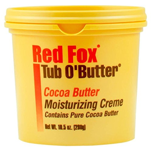 Cocoa Red (Red Fox Tub O Butter Cocoa Butter 10.5 Ounce (310ml) (3 Pack))