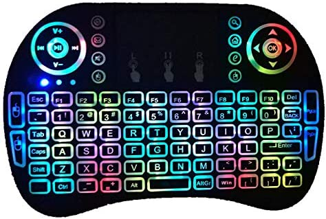 Demana Mini i8 2.4G Air Mouse Wireless Keyboard with Touchpad ...