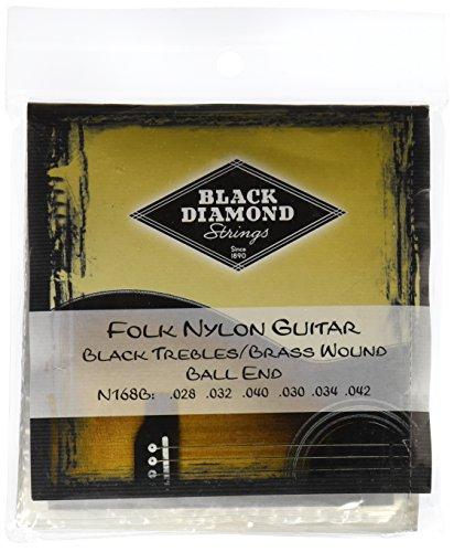 Black Diamond N168B Folk Nylon Guitar ()