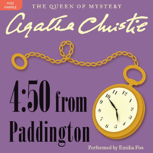 4:50 from Paddington: A Miss Marple Mystery cover