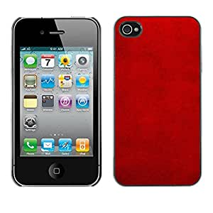 LASTONE PHONE CASE / Carcasa Funda Prima Delgada SLIM Casa Carcasa Funda Case Bandera Cover Armor Shell para Apple Iphone 4 / 4S / Cool Patterned Wallpaper Lava Rustic Stylish Velvet