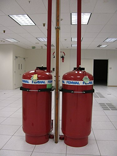 Home Comforts Laminated Poster Two FM200 fire Suppression Tanks, Front Vivid Imagery Poster Print 24 x 36