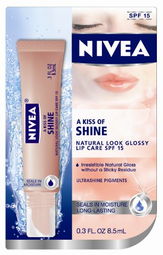 NIVEA Un baiser de service Soins SPF 15 Blister Card Natural Lip Glacé, 0,3 once