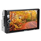 KKmoon 7 inch Universal 2 Din HD BT Car Radio MP5 Player Multimedia Radio Entertainment USB/TF FM Aux Input