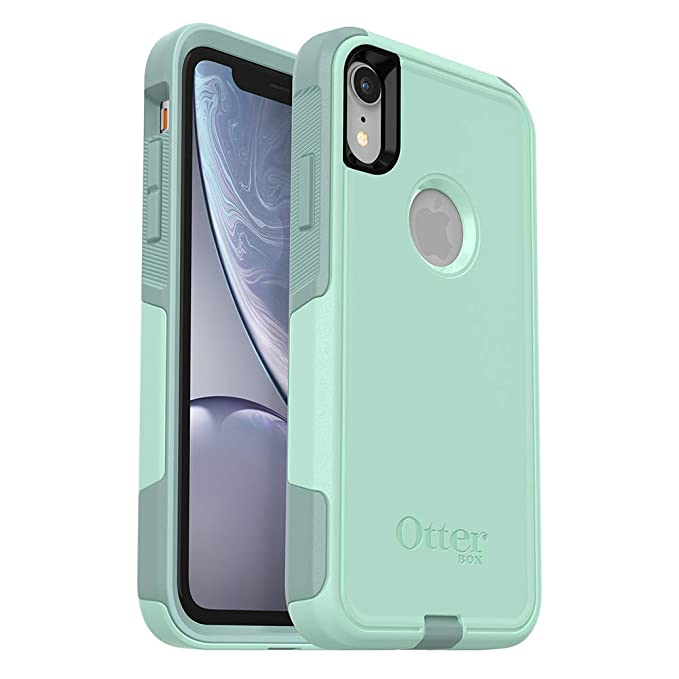 best sneakers 3e67e d3b9f OtterBox Commuter Series Case for iPhone XR - Retail Packaging - Ocean Way  (Aqua SAIL/Aquifer)