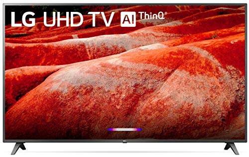 "82"" 4K Ultra HD Smart LED TV (2019), Black - LG 82UM8070PUA"