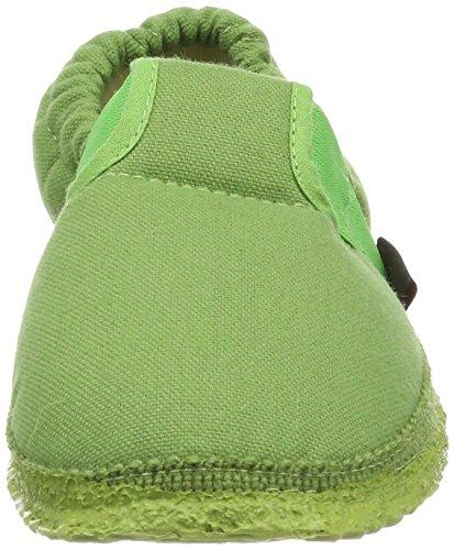 Giesswein Aichach, Zapatillas de estar Por Casa Unisex Niños Verde (Gras)