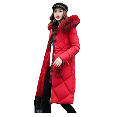 b6ced2d3c Amazon.com: Fly wings Women's Long Cotton Jacket, Loose Padded Coat ...