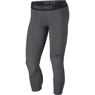 107f5eacd5 Amazon.com: Nike Pro Dri-FIT Men's 3/4 Basketball Tights: Clothing