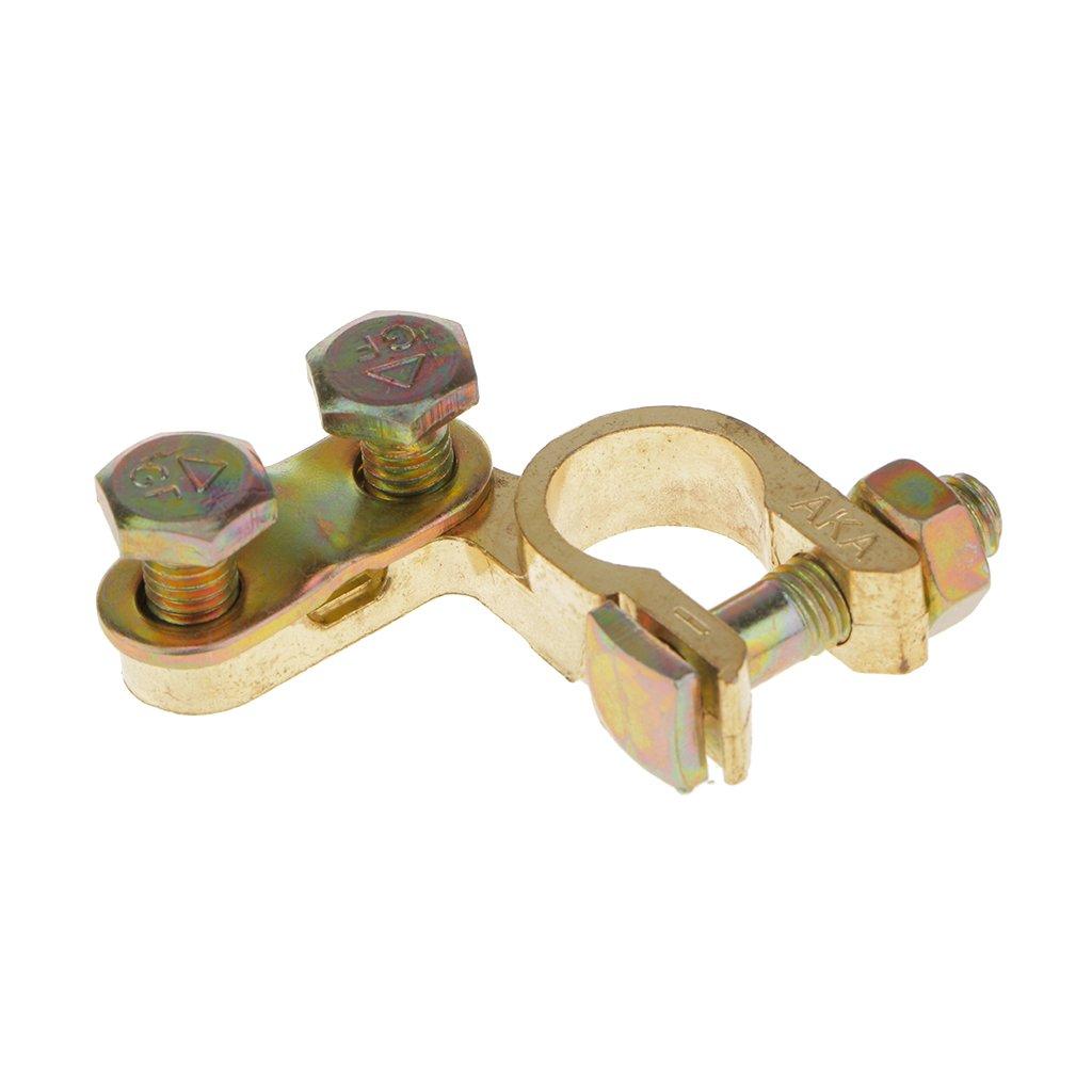 2pz La Sostituzione Del Connettore Clip Morsetto Batteria Per Auto Universale Oro
