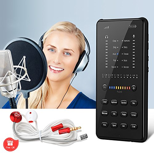- Foluu Portable Digital Mixer DJ Mobile Sound Card Instant Online Celebrities Recording Singing Live Broadcast LiveStream YouTube LiveMe Facebook Live Periscope Anchor Compatible with iPhone/Android/P