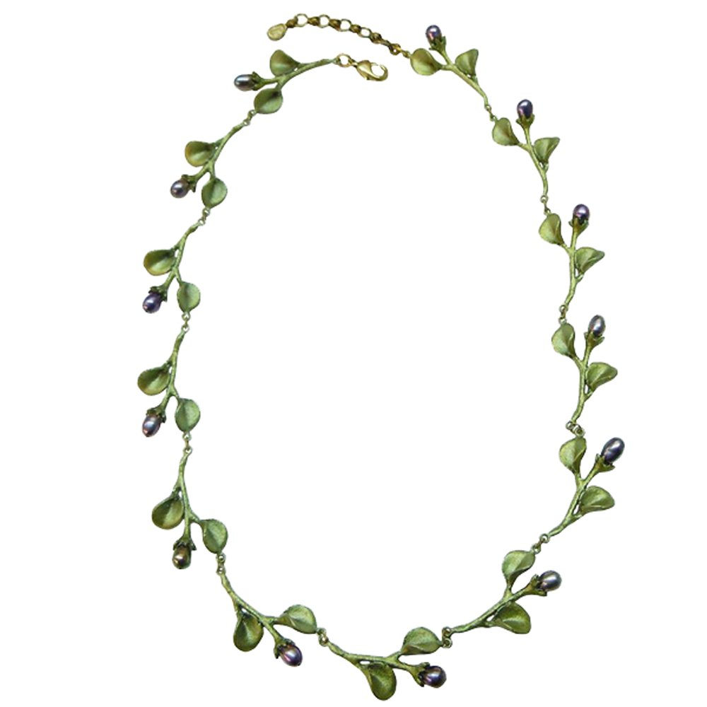 ''African Violet'' Pearl Necklace by Michael Michaud for Silver Seasons
