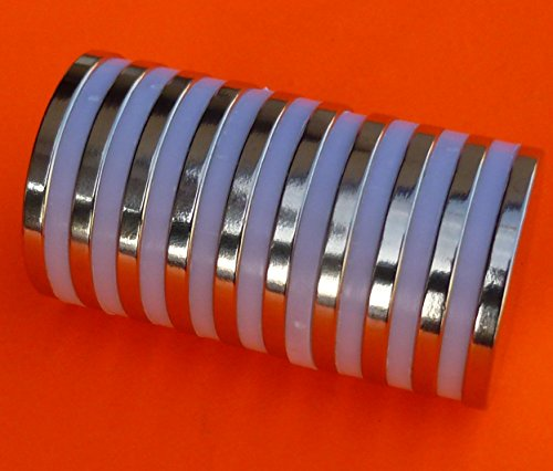 Lightweight Neodymium Magnet (10Pc Super Strong N52 Neodymium Magnet 1.26