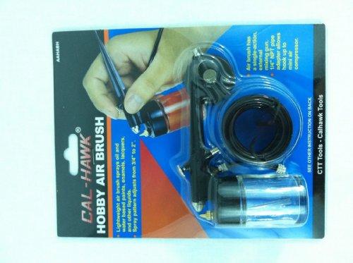 (Air Brush Airbrush Spray Gun Kit Hobby Paint Starter Tool Model Car Spray Tan)