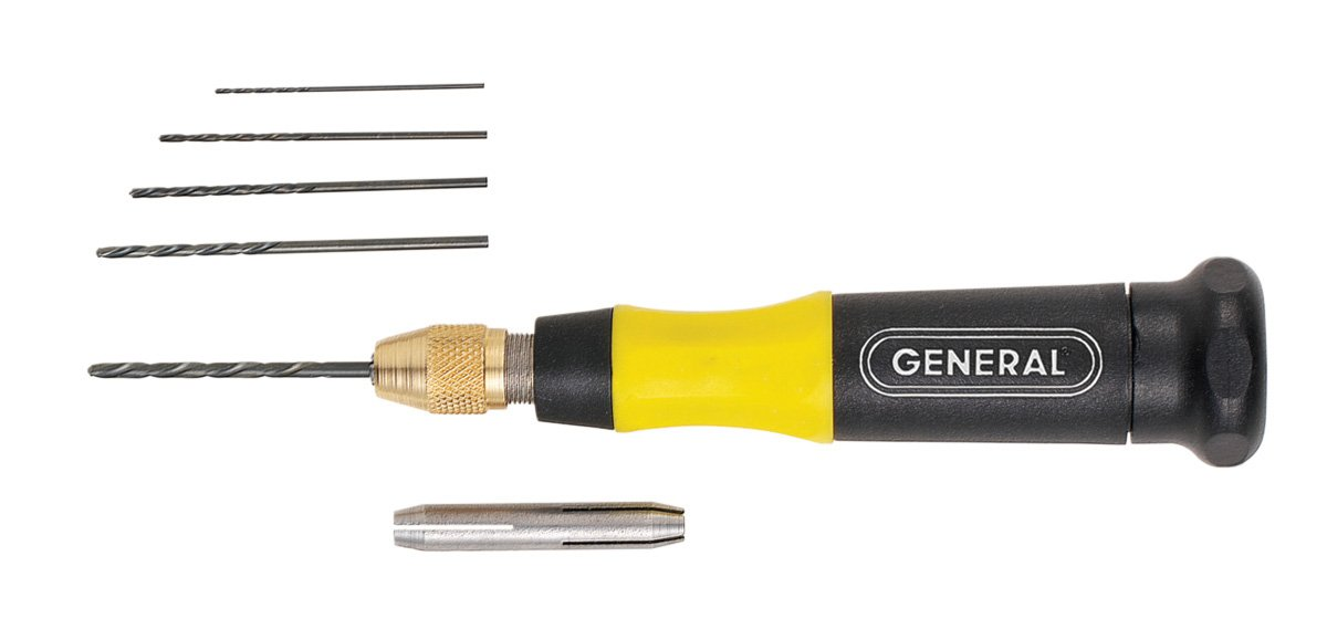 General Tools 75801 4-in-1 Pin Vise General Tools /& Instruments