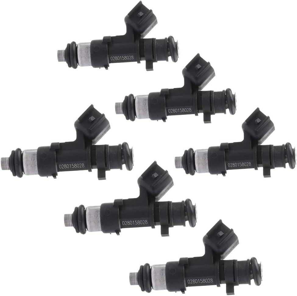 6 Sets of Fuel Injectors for Dodge Avenger Nitro 2010-2008 2.7L 3.5L 04591986AA