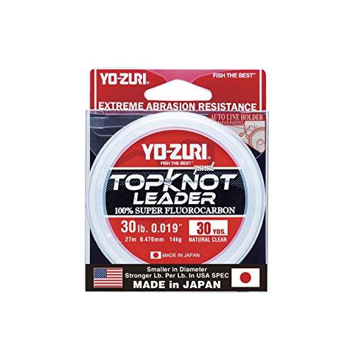 Yo-Zuri Topknot 30 yd Sinking Leader, Natural Clear, 30 lb