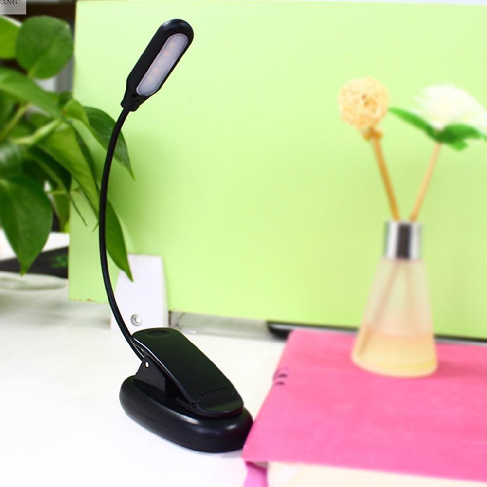 batteriebetrieben dimmbar Demiawaking LED-Leselampe zum Anklipsen Bett Kinder wei/ß f/ür B/ücher
