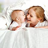 Luxana Baby Cocoon Comforter Set, Natural White