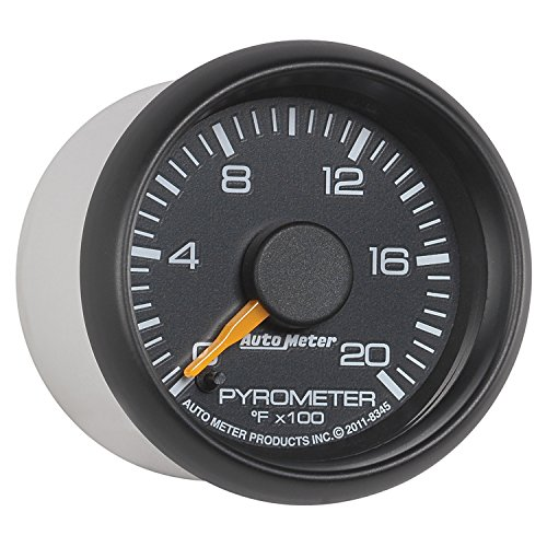 how to read a pyrometer gauge