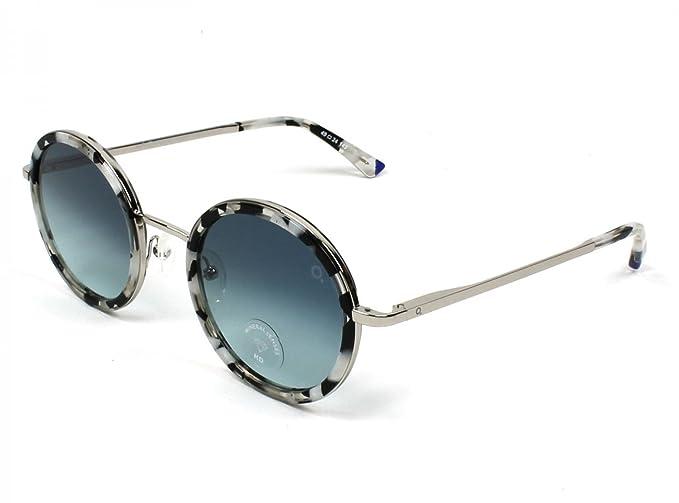 Etnia Barcelona Gafas de Sol MIRAMAR BLACK WHITE/BLUE SHADED ...