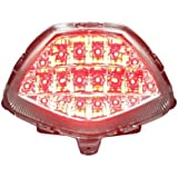 2011-2013 Honda CBR250R 2015-2016 CBR300R CB300F Integrated Sequential LED Tail Lights Clear Lens