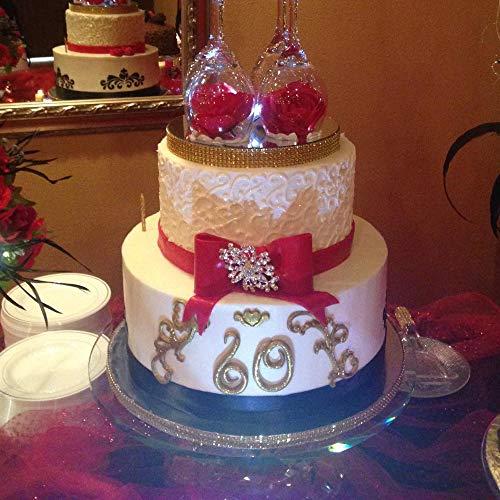 Vintage Relief Cake Fondant Mold - Curlicues Scroll Flourish Silicone Fondant Mold Sugarcraft Wedding Cake Decorating Tools Chocolate Molds