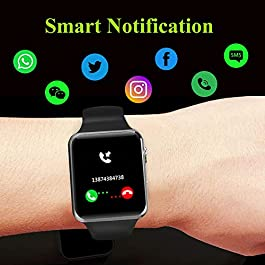 Smart Watch,Android Smart Watches for Men Women Teens with SIM SD Card Slot SmartWatch Compatible Android Samsung iPhone…