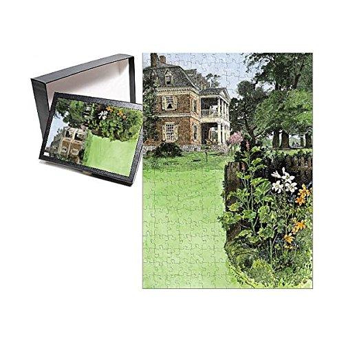 Manor Plantation (Media Storehouse 252 Piece Puzzle of Shirley Plantation in Virginia, 1800s (5886465))
