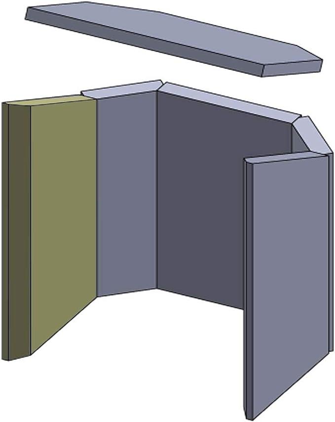 Flamado - Juego de accesorios para chimenea (6 piezas): Amazon.es: Hogar