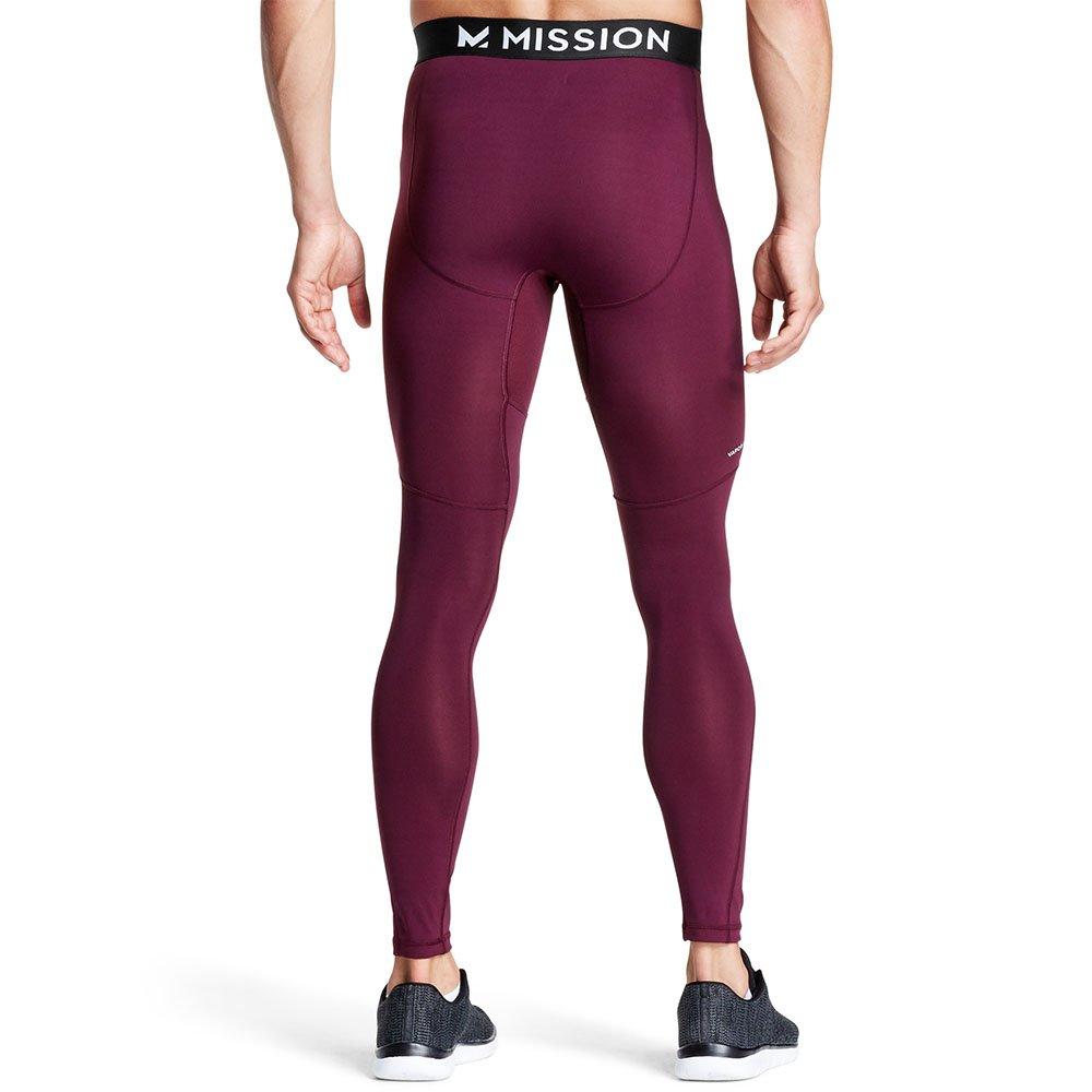 Mission Mens VaporActive Voltage Compression Tights Mission Athlete Care MISSP17M015-P