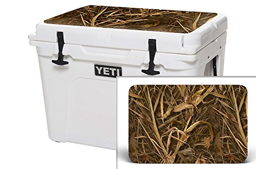 USA Tuff Thickest & Toughest Wrap 24Mil Cooler Accessories Decal for YETI 35QT Tundra Lid Kit – Wing Camo