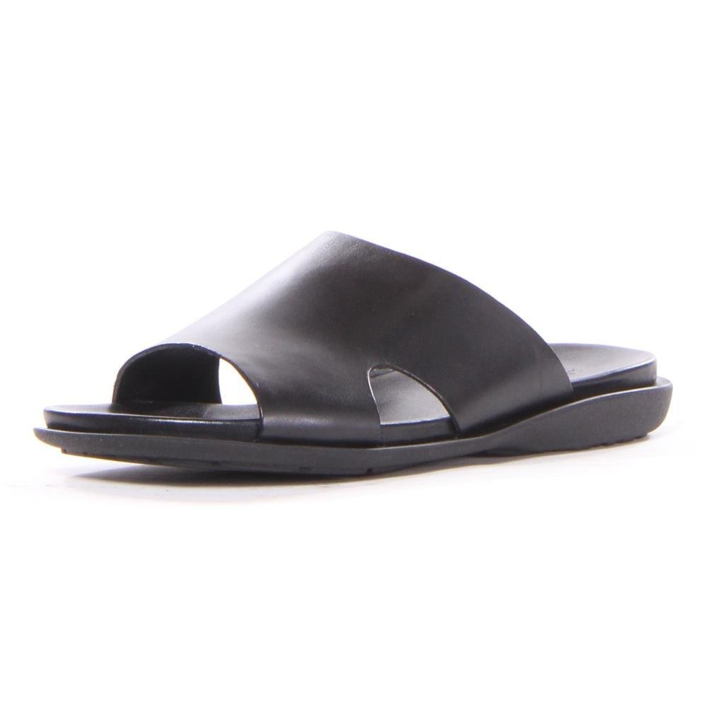 Kenneth Cole New York Mens Sand-y Beach Slide Sandal, Black, 8 M US