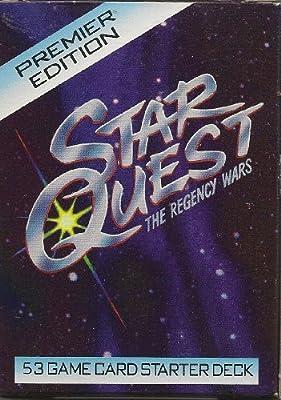 Star Quest: The Regency Wars - 53 Game Card Starter Deck - Premier Edition