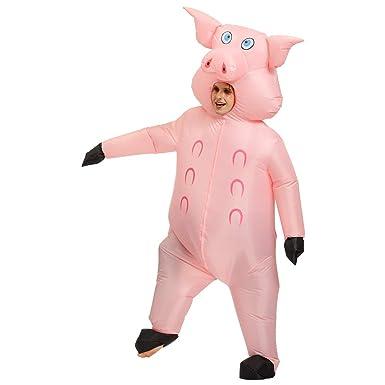 Disfraces de Cosplay inflables de Halloween con diseño de Cerdo ...