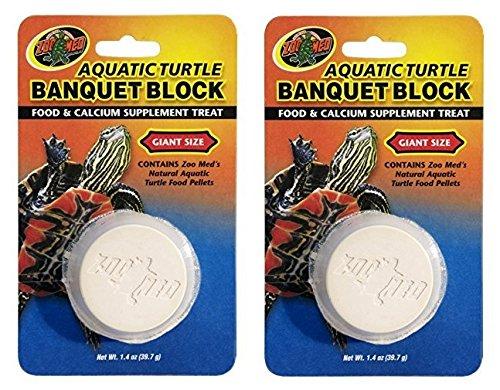 Zoo Med Aquatic Turtle Banquet Block, 2 Count