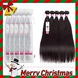 Sedittyhair Brazilian Human Hair Bundles 8A Grade 100% Unprocessed Straight Virgin Human Hair