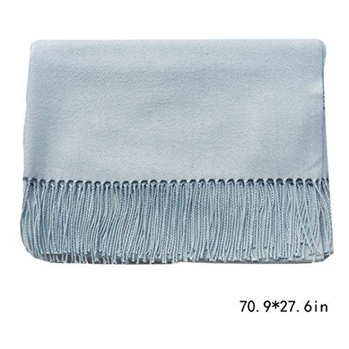 de cara Aisi bufanda doble bufanda de de mujer mant 5qqOt7xaw