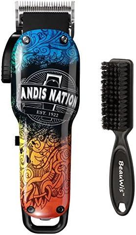 Andis Envy Li Nation - Cortaúñas ajustable con cepillo de hoja ...