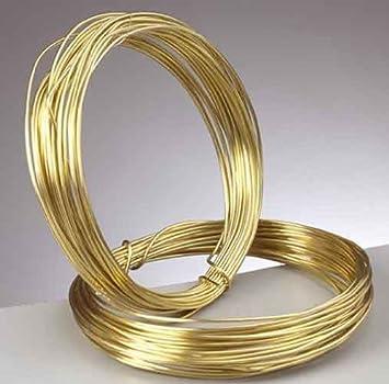 Efco 22 225 10 - Alambre para bisutería, 1,00 mm x 4 m, color dorado
