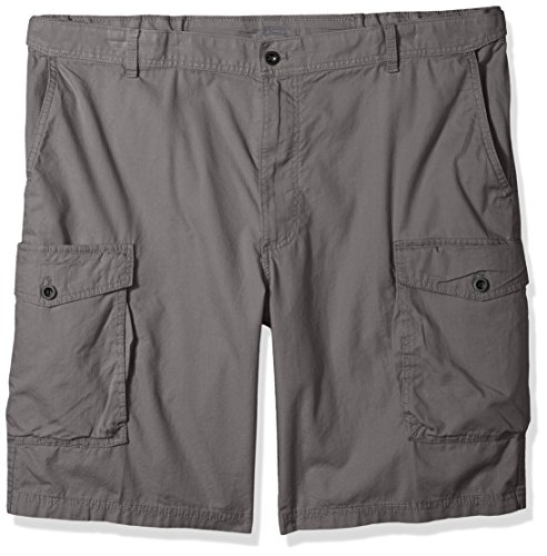 IZOD Mens Big Tall Saltwater Ripstop Cargo Short