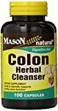 Mason Natural, Colon Herbal Cleanser, 100 Capsules (Pack of 3), Dietary Supplement Supports Digestive Health with Soluble Fibers, Probiotics and Herbs Review